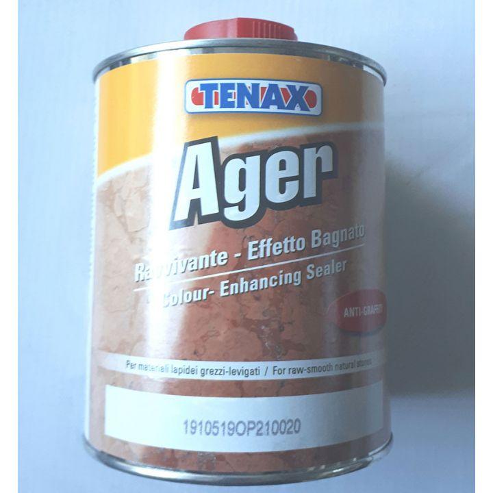 Покрытие AGER, эффект мокрого камня 1 л. Tenax