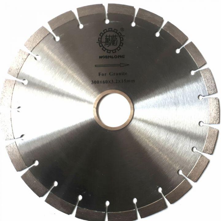 Диск алмазный отрезной звонкий ЭКСТРА ГРАНИТ высота сигмента 15 мм